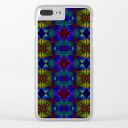 2306 Summernight's pattern dream ... Clear iPhone Case