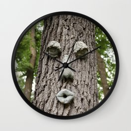 The Tree is Watching Wall Clock