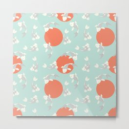 Koi fish pattern 005 Metal Print