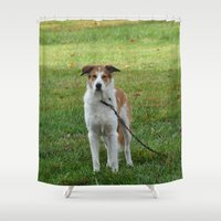 courage Shower Curtains featuring Courage by Kaleena Kollmeier