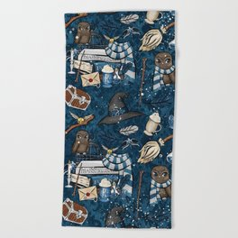 Hogwarts Things Beach Towel