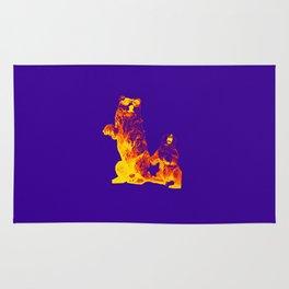 Ours Republique purple Rug