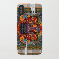 sacred geometry iPhone & iPod Cases featuring Sacred Geometry by Robin Curtiss