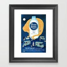 PK Night 11 Framed Art Print