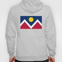 Denver, Colorado City Flag Hoody