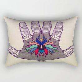 Hand Of Happiness  Rectangular Pillow