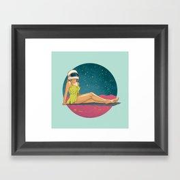 Catching Rays Framed Art Print