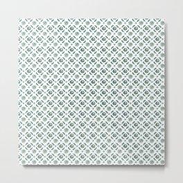 White Brassicas Metal Print