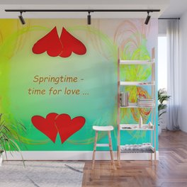 Springtime - time for love (day) ... Wall Mural