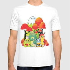 The Gang MEDIUM Mens Fitted Tee White