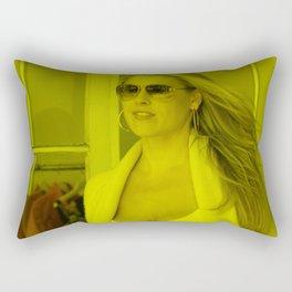 Alyssa Milano - Celebrity Rectangular Pillow