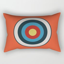 The Kids Are Alright (orange) Rectangular Pillow