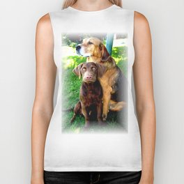 Ain't Nothing But A Hound Dog Biker Tank