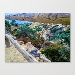 So Torrey California Canvas Print