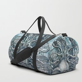 Sea Monster Duffle Bag