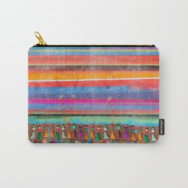 Cosmic Serape Bomb Carry-All Pouch