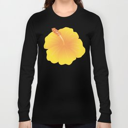 Hibiscus_Y Long Sleeve T-shirt