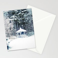 Snowy Gazebo Stationery Cards