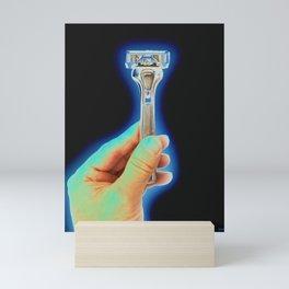 Excalibur-- The Magnificent Razor Blade! Mini Art Print