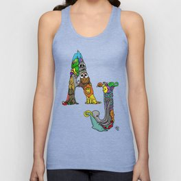 AJ loves Animals Unisex Tank Top