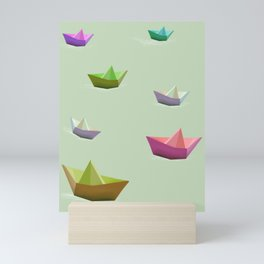 Boats no.3 Mini Art Print