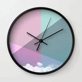 Colorful sky Wall Clock