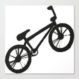 Bike black & white  Canvas Print