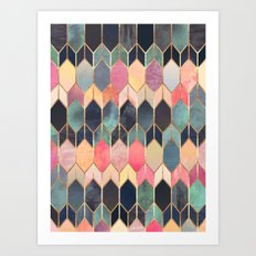 Stained Glass 3 Art Print