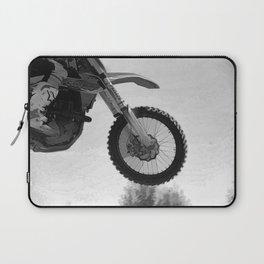 Motocross Dirt-Bike Racer Laptop Sleeve