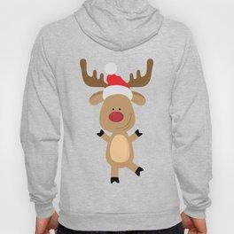 Dancing Rudolph Red Nosed Reindeer Merry Christmas Hoody