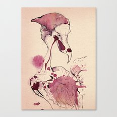 Hoploid Heron Canvas Print