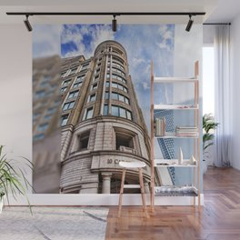 London Photography Canary Wharf Cabot Square Wall Mural