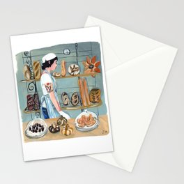 Clearfour Bakery Girl Stationery Cards