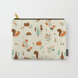 Squirrel Friends Carry-All Pouch