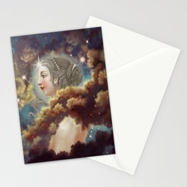 Lady Nebula Stationery Cards