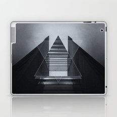 The Hotel (experimental futuristic architecture photo art in modern black & white) Laptop & iPad Skin