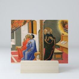 Sano di Pietro - The Apparition of St Jerome to Sulpicius Severus Mini Art Print