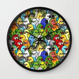 Too Many Birds!™ Bird Squad 1 Wall Clock