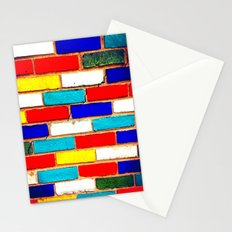 Vibrant Brick Stationery Cards