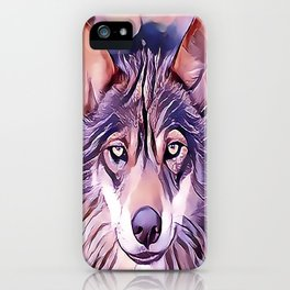 The Iberian Wolf iPhone Case