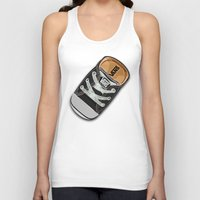 vans Tank Tops featuring Cute black Vans all star baby shoes apple iPhone 4 4s 5 5s 5c, ipod, ipad, pillow case and tshirt by Three Second