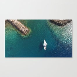 Yachting. Canvas Print