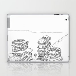 we are at a crossroads Laptop & iPad Skin