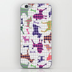 Houndstooth Hounds iPhone & iPod Skin