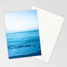 calm day 04 ver.blue Stationery Cards