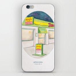 Haruki Murakami's After Dark Watercolor Illustration iPhone Skin