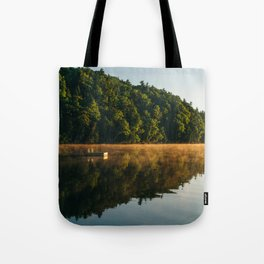 Raft at Sunrise Tote Bag