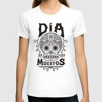 dia de los muertos T-shirts featuring Dia de los  Muertos  by Zak Rutledge