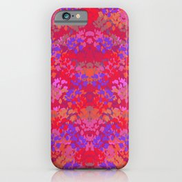 Fall Flowers (Purple) iPhone Case