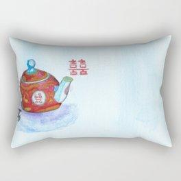 Chinese Teapot Rectangular Pillow